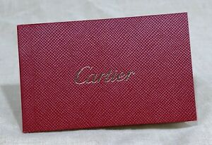 CARTIER Booklet for Leather Products Care & Recommendations Bag Purse Wallet  /