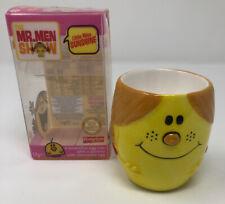 Vintage 2008 Kinnerton Mr Men - Little Miss Sunshine - Egg Cup