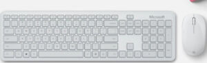 Microsoft - Bluetooth Keyboard and Mouse Bundle - Glacier QHG-00031