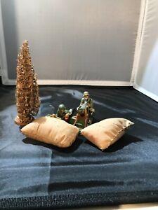 Schusso/Lineol/Elastolin Machine Gun Nest Diorama