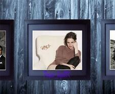 Kristen Stewart Bella Twilight SIGNED AUTOGRAPHED FRAMED 10x8 REPRO PHOTO PRINT