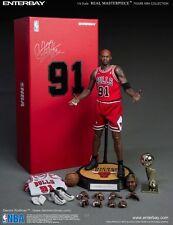 Enterbay NBA Chicago Bulls Dennis Rodman #91 w/ 2 Head 1/6 Figure