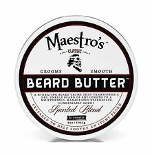 Maestro's Classic Spirited Beard Butter 6 Ounce Free Shipping