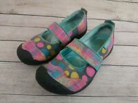 Keen Harvest Mary Jane MJ Womens Slip On Flats Loafers Size 6 Polka Dot 1007741