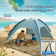 Sonnenschutz Strandmuschel Strandzelt,Sonnenwasserbeständig,Hochwertig BeachTent