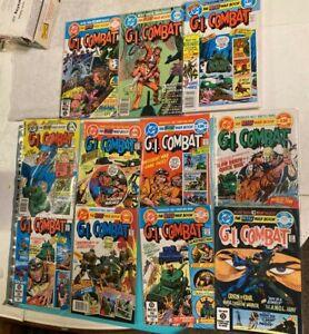 DC Comics G.I. Combat (11 BOOKS) 241-245, 247-249 and 264-266