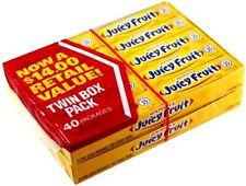 Wrigley's Juicy Fruit Gum 40 pack (5ct per pack)