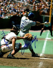 Marc Hill and Steve Garvey Autographed Photograph with COA