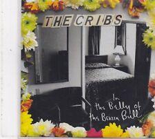 The Cribs-In The Belly Of The Brazen Bull promo cd album