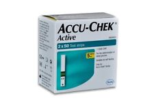 Accu Chek Active Determination of Blood Glucose 100 Test Strips Exp- April 2021