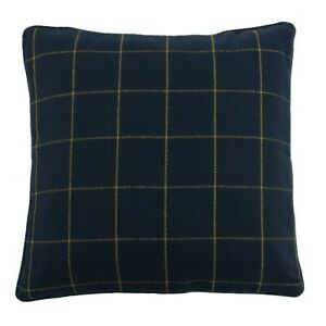 Ellis Check Woven Cushion Covers by Riva Paoletti. Available in 4 Colours