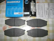 NEW FRONT BRAKE PADS - FITS: NISSAN 280ZX 280Z FAIRLADY (S130) 1979-84