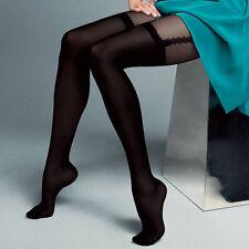 "Mock Suspender Tights Imitating Stockings Veneziana ""Dalia"" 20/40 Denier"