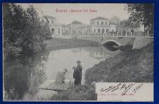TREVISO Barriera Vittorio Emanuele animata viaggiata 1906  f/p #20649