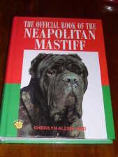 Rare Neapolitan Mastiff Dog Book 1St 1995 By Sherilyn Allen 320 Pages Illus