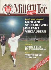 BL 89/90 FC St. Pauli - Fortuna Düsseldorf
