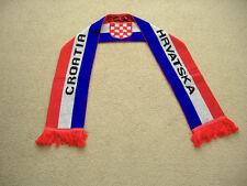 "Croatia Team Scarf  5' x 7"" New"