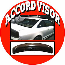 JDM 1999 Accord Coupe CG Rear Roof Window Visor Spoiler with Stability Brackets
