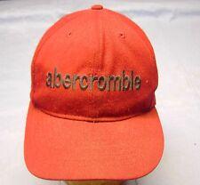 Abercrombie & Fitch burgundy baseball cap