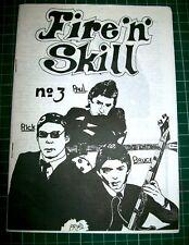 FIRE 'N' SKILL ISSUE 3 MODZINES MOD FANZINE PAUL WELLER THE JAM MOD REVIVIAL