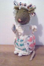 """LADY Mouse da Beatrix Potter una nuova mano a maglia bambola giocattolo/23 cm/9"""" """"Tall"""