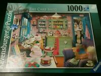 Ravensburger 1000 piece jigsaw puzzle My Haven Collection No. 5 'The Cake Shed'
