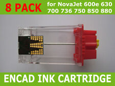 8x Ink Cartridge For Encad NovaJet 600 630 700 736 750 850 880 NEW
