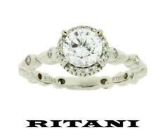 Anelli con diamanti in platino di fidanzamento Misura anello 7