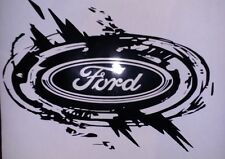 FORD Logo Vinyl Decal Stickers Car Van Transit