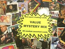 Non-Sport trading cards Value Mystery Mix: 40 random, assorted trading cards!
