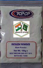 200 G Allume/Fatakdi polvere SOLFATO DI ALLUMINIO E Potassio Deodorante Antibatterico
