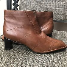 "Women's   ARA Ankle Boots Brown  Leather Heels 2""Size 7,5 USA"