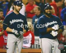 Ryan Braun Prince Fielder Milwaukee Brewers MLB 8 X 10 Photo Glossy