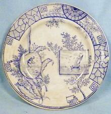Antique Transferware Plate Little Boy Sailboat Childs Childrens As Is Brownhills