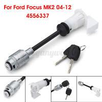 Bonnet Release Lock Latch Set Repair Kit Keys For Ford Focus MK2 2004-12  +-