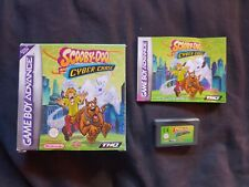 SCOOBY-DOO AND THE CYBER CHASE Nintendo Gameboy Advance Game