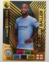 2020/21 PANINI Adrenalyn EPL Soccer Card - Sterling Golden Baller Manchester C