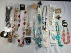 Job Lot New Mixed Costume Jewellery Necklaces Earrings Bracelets