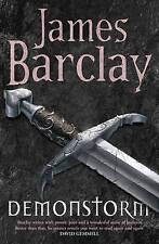 New, Demonstorm (Legends of the Raven 3), James Barclay, Book