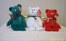 TY  BEANIE BABIES ANGELS    3  PIECE SET  GIFT: PEACE...LOVE AND JOY