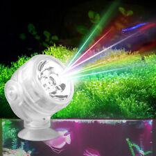 Aquarium LED Scheinwerfer Fish Tank Licht Unterwasser Marine Night Lampe EU Plug