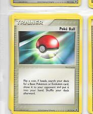 POKE BALL - Trainer - 95/112  - Pokemon - Ex Fire Red Leaf Green = NM