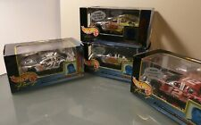 Lot of Four (3 different) 1999 Hot Wheels Racing 1/43 Diecast Collectibles