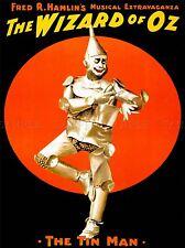 VINTAGE pubblicità Wizard of Oz Tin Man Arte Poster Stampa lv4646