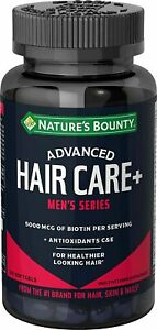 Nature's Bounty Biotin - Advanced Hair Care+, Men's Series, with...