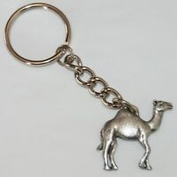Camel Fine Pewter Keychain Key Chain Ring USA Made