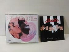 BLONDIE -  The Platinum Collection 2CD Set & Booklet 1994 Chrysalis VGC