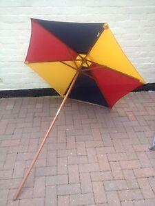 Kids Rainbow Multicoloured Garden Parasol - Sun Shade - Childrens Umbrella