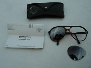 Vintage B&L Ray-Ban USA Tortoise Style A Aviator Sunglasses