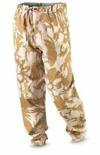 Genuine British Army Desert Camo Gortex Trousers, New Size 34-36 Long